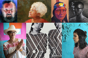 """FOUND:RE Contemporary Introduces """"Portraits & Icons"""""""